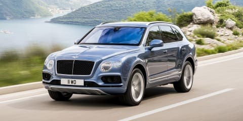 Bentley Bentayga V8 heading to Geneva - report