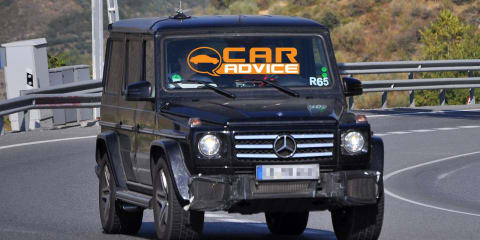 2012 Mercedes-Benz G55 AMG with 5.5-litre twin-turbo V8?