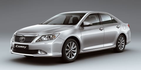 2012 Toyota Aurion revealed, on sale in Australia Q1