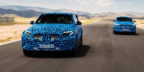 Mercedes-Benz EQC teased