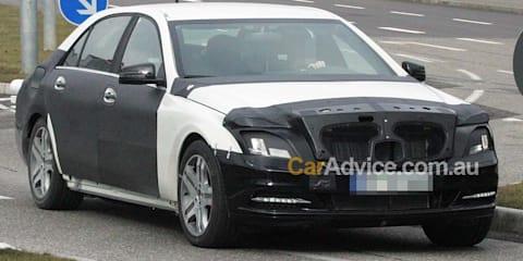 2012 Mercedes-Benz S-Class spy photos