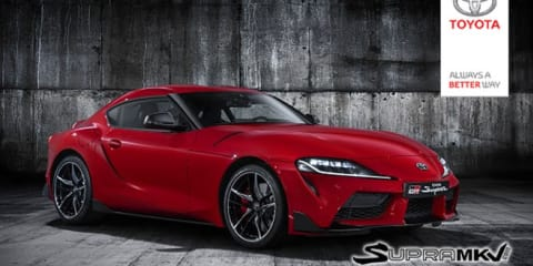 2020 Toyota Supra exterior accidentally revealed