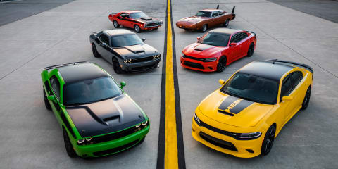 2017 Dodge Challenger T/A, Charger Daytona revealed: iconic nameplates return