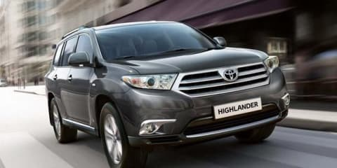 Toyota Kluger facelift coming Q4 2010, no change to Prado