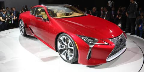 Lexus LC500 Coupe revealed - UPDATE