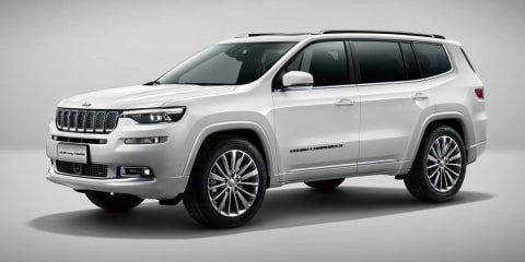 Jeep Grand Commander debuts in Beijing