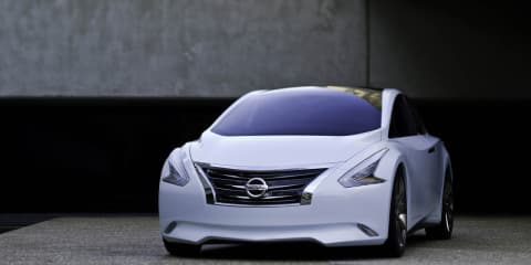 Nissan Ellure Concept at Los Angeles Auto Show