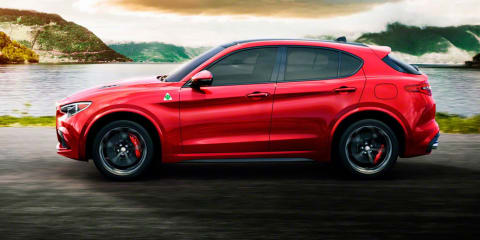 2018 Alfa Romeo Stelvio revealed: Leaked images and details