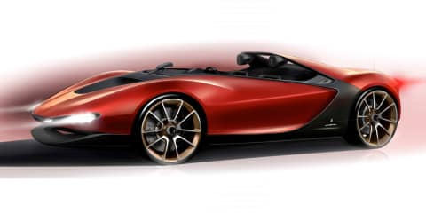 Pininfarina Sergio concept revealed in design sketch