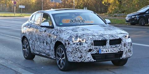 BMW X2 spy photos