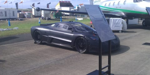 Joss JP1 Supercar prototype at Avalon Airshow