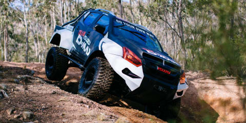Team Isuzu D-MAX's supersized off road behemoths
