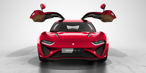 Quant F concept to debut in Geneva with updated 802kW fuel-cell drivetrain