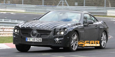 2011 Mercedes-Benz SL Spy Photos