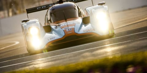 Aston Martin 007 LMP1 Car takes Second Place after leading at Long Beach