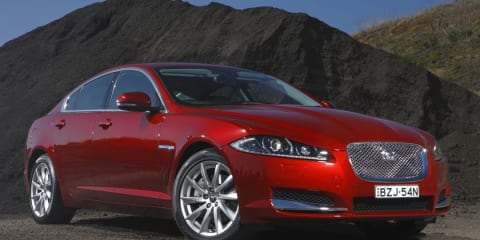 Jaguar XF 2.2 Diesel launches in Australia