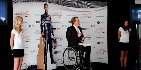 Australian Festival of Speed to feature Mark Webber in a Formula 1 car