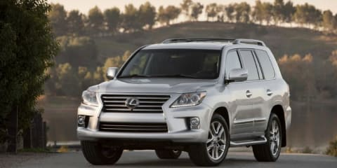 2012 Lexus LX570: new look, more tech and lower price