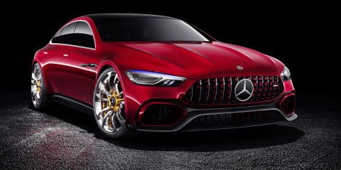 Mercedes-AMG GT four-door concept revealed