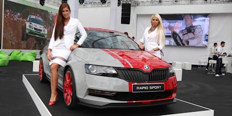 Skoda Rapid Sport concept unveiled