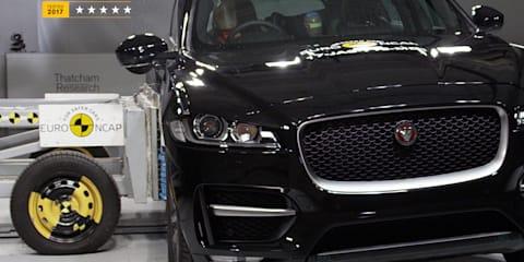 2018 Jaguar F-Pace scores five stars in ANCAP testing