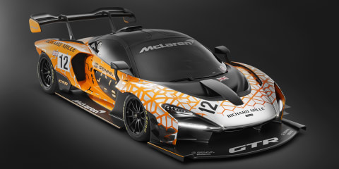 McLaren Senna GTR: Downforce, suspension specifics revealed
