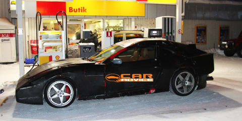 2012 Ferrari 612 Shooting Brake spy shots