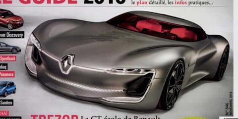 Renault Trezor concept revealed early in magazine leak