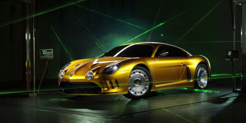 Willys AW 380 Berlinetta unveiled: Alpine A108-style body hides Porsche mechanicals