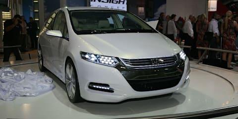 Honda Insight concept at MIMS