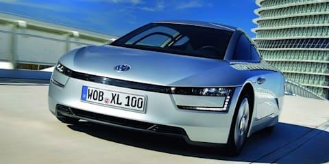 Volkswagen XL1: world's most fuel-efficient car revealed