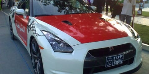 Nissan GT-R latest police issue in UAE