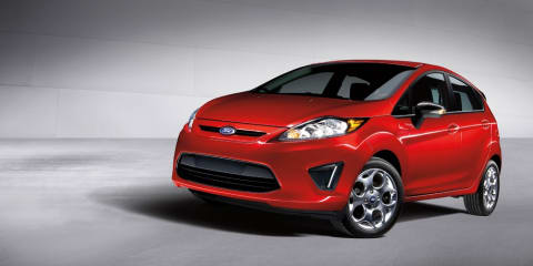 2012 Ford Fiesta customisation packages for US market