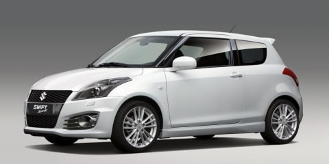 2012 Suzuki Swift Sport unveiled before 2011 Frankfurt Motor Show