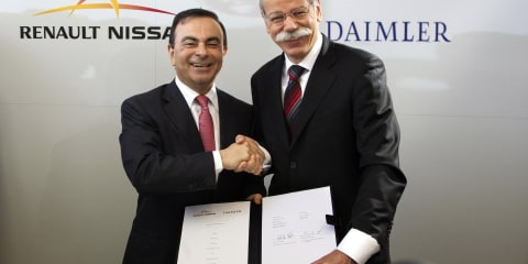 Renault-Nissan, Daimler reach sharing and collaboration agreement
