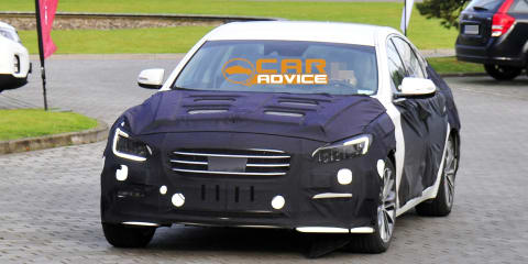 Hyundai Genesis: first look at Korea's new E-Class rival