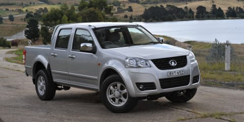 Great Wall V200 recall : 9000 diesel utes affected