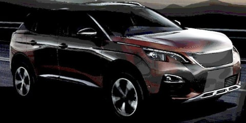 2017 Peugeot 3008 revealed in teaser image, unveiling due tonight