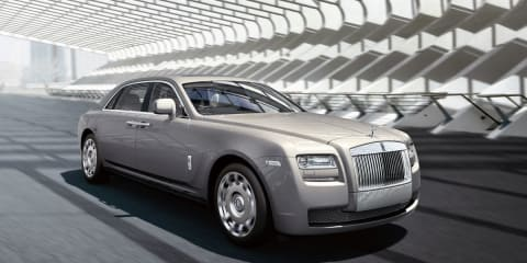 2012 Rolls-Royce Ghost EWB to arrive in March