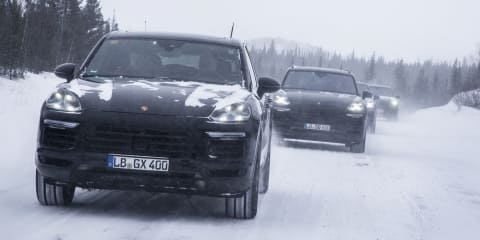 2018 Porsche Cayenne teased ahead of debut next week