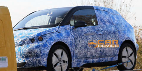 BMW i3 prototype spy shots