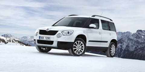2011 Skoda Yeti at Australian International Motor Show 2011