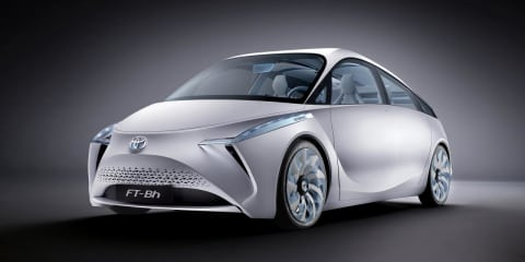 Toyota FT-Bh hybrid concept uses 2.1L/100km