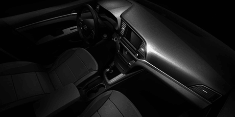 2016 Hyundai Elantra interior teased