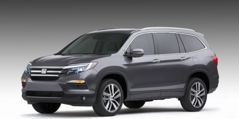 2016 Honda Pilot large SUV revealed, ruled out for Australia
