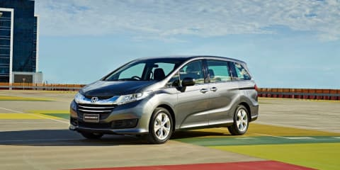 "Honda Odyssey hybrid : Japanese people mover set to cut fuel use by ""50 per cent"""