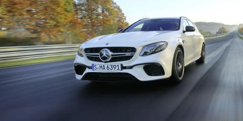 Mercedes-AMG E63 S Estate sets new Nurburgring lap record