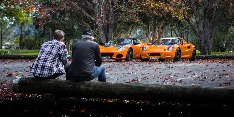 Lotus Elise old v new: Series 1 and Series 3