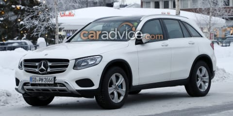 2019 Mercedes-Benz GLC interior spied - UPDATE