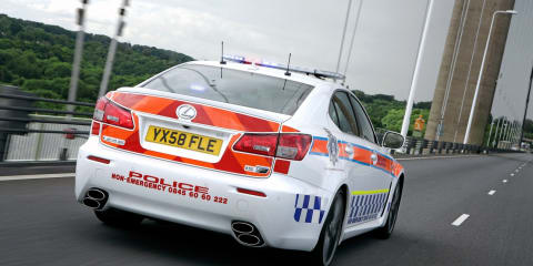 Lexus IS-F to power UK police